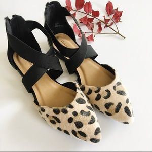 Rampage D'Orsay Leopard Print Flats